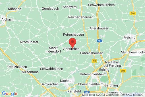Karte Vierkirchen