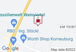 Fossilienwelt Weinviertel - Karte