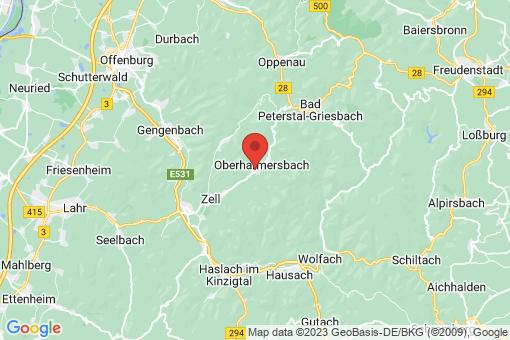 Karte Oberharmersbach