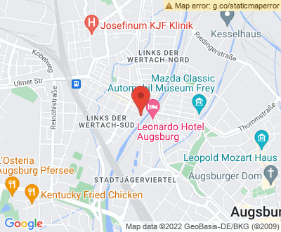 Anfahrt zu Alles Clean 24 Augsburg - DE-A
