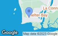 Map of La Conner, WA