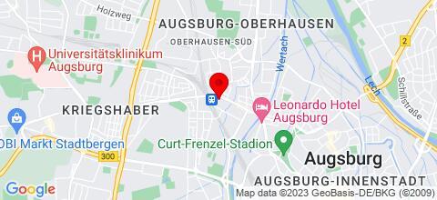 Google Map für Arbeiterwohnungen auf Zeit