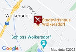 Stadtwirtshaus Wolkersdorf - Karte