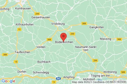 Karte Bodenkirchen