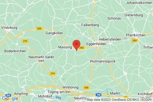 Karte Unterdietfurt
