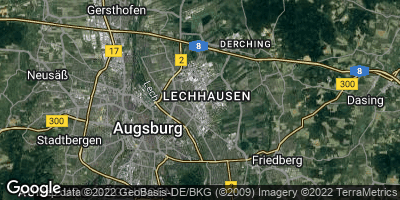 Google Map of Lechhausen