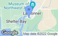 Map of La Conner, WA