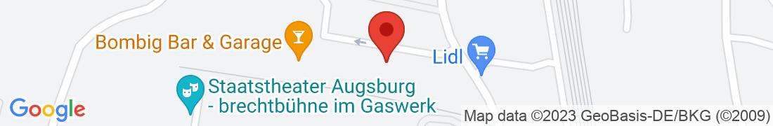 BayWa Baustoffe Augsburg Anfahrt