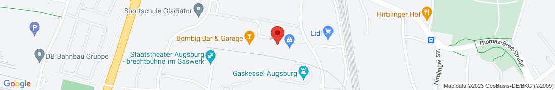 BayWa Tankstelle Augsburg Anfahrt