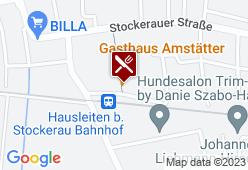 Gasthaus Amstätter - Karte