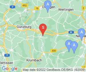 Karte für Golf Club Schloß Klingenburg e.V.