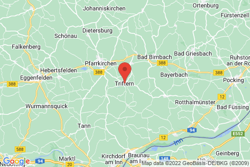 Karte Triftern