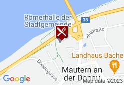 Römerhalle Mautern - Karte