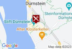 Kuenringerhof Dürnstein - Karte