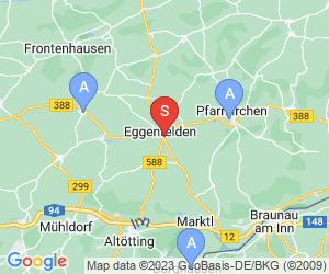Karte für DAV-Kletteranlage Eggenfelden