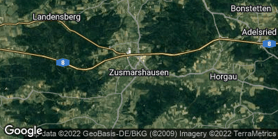 Google Map of Zusmarshausen