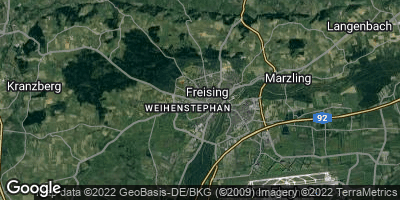 Google Map of Freising