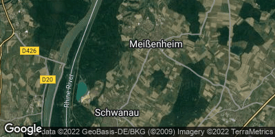 Google Map of Meißenheim