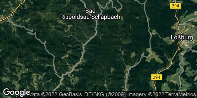Google Map of Bad Rippoldsau-Schapbach