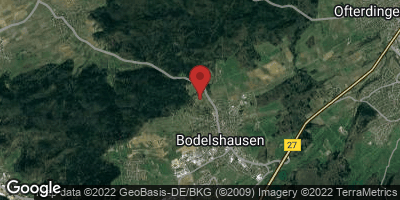 Google Map of Bodelshausen