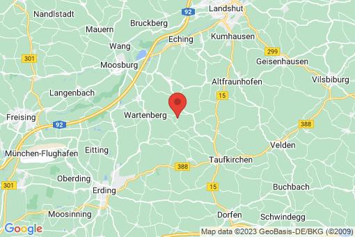 Karte Kirchberg