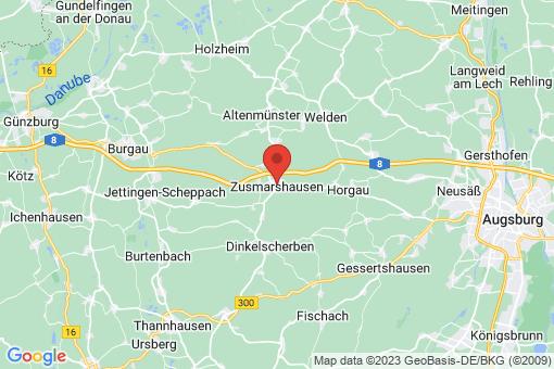 Karte Zusmarshausen