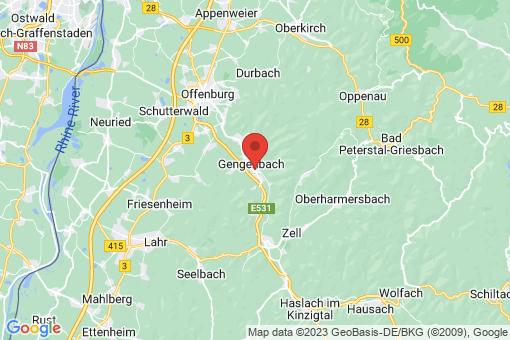 Karte Gengenbach