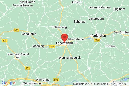 Karte Eggenfelden