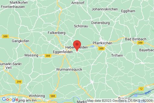 Karte Hebertsfelden