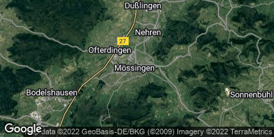 Google Map of Mössingen