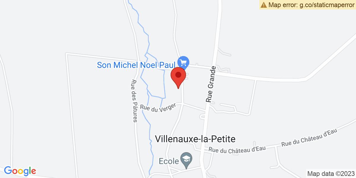 Localisation du projet 'SOIRÉE LECTURE AU COIN DU FEU A VILLENAUXE-LA-PETITE'