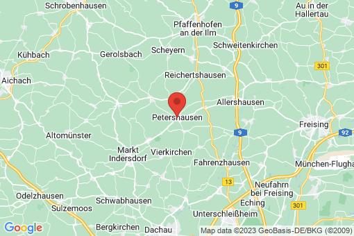 Karte Petershausen