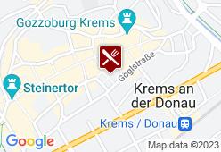"""Stadtgasthaus """"Zum Goldenen Hirschen"""" - Karte"""