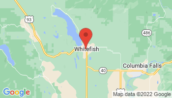 Map of Whitefish