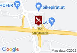 Raststation Grafenwörth - Karte