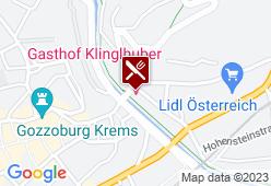 Gasthof + Restaurant Klinglhuber - Karte