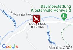 Goldenes Bründl - Karte