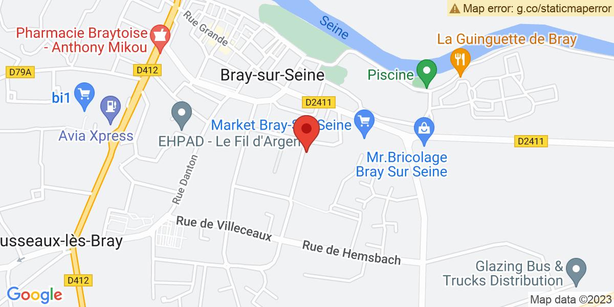 Localisation du projet 'Création incontournable d'un casier pilote inondable, sur la rive droite de la Seine'