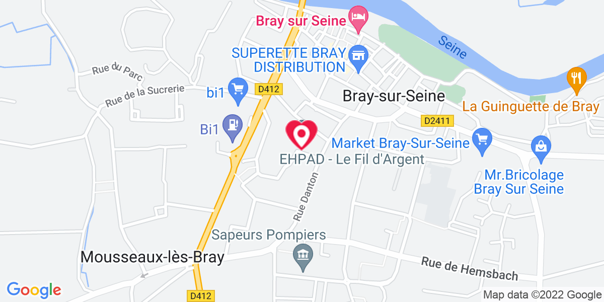 Localisation du projet 'FEUILLETON DES LUTINS DE BRAY-SUR-SEINE'