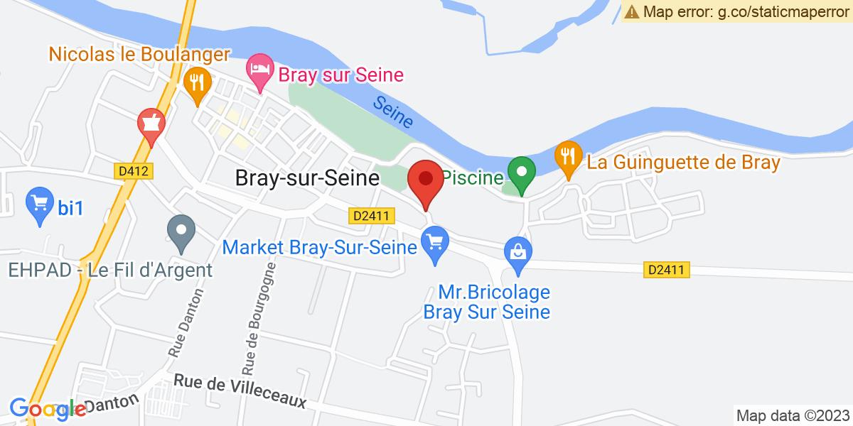 Localisation du projet 'Hôtellerie de plein air «La Peupleraie»'