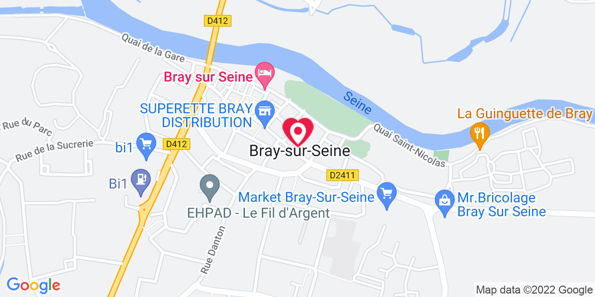 Localisation du projet 'Message du Président de la République, prononcé à Bray-sur-Seine pour la célébration du Centenaire de l'Armistice de la Grande Guerre'