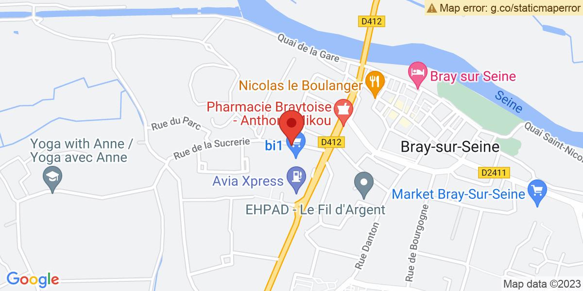 Localisation du projet 'Inauguration de la clinique vétérinaire Mandarine'