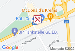 Baguetteria grün Bühl Center - Karte