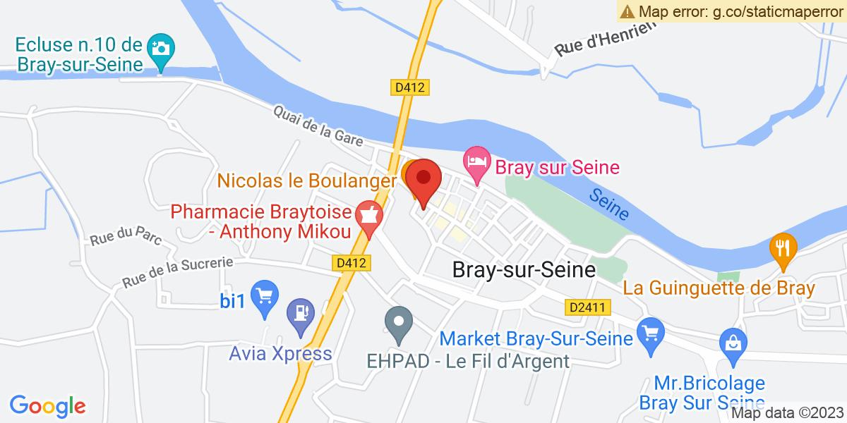 Localisation du projet 'CHASSE AUX ŒUFS DE PÂQUES'