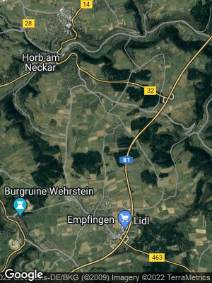 Google Map of Dettensee