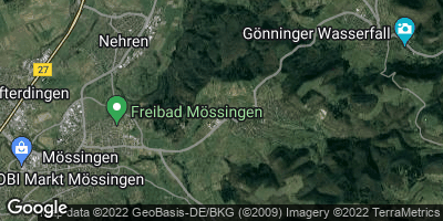 Google Map of Öschingen
