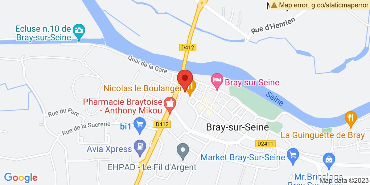 Localisation du projet 'Crêperie du Flamboyant'