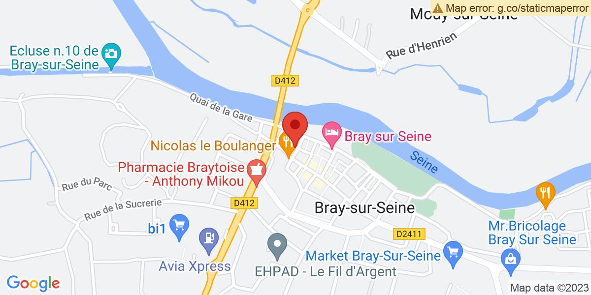 Localisation du projet 'TATOUER LES CICATRICES POUR LES EFFACER – BRAY-SUR-SEINE'