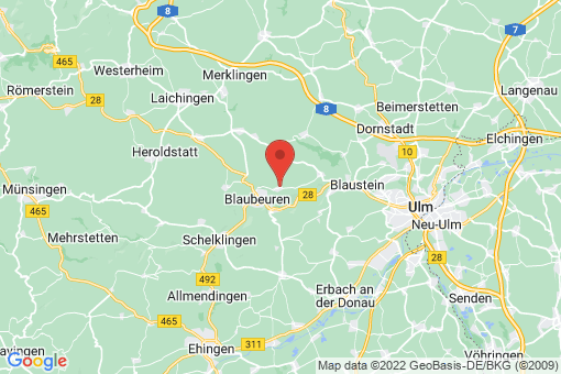 Karte Blaubeuren Sonderbuch