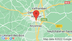 Carte de localisation du centre de contrôle technique ALENCON